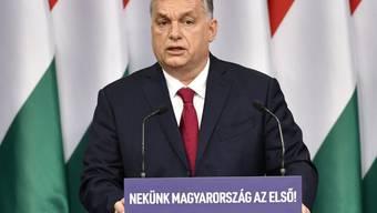 ARCHIV - Viktor Orban, Ministerpräsident von Ungarn. Foto: Zsolt Szigetvary/MTI/dpa