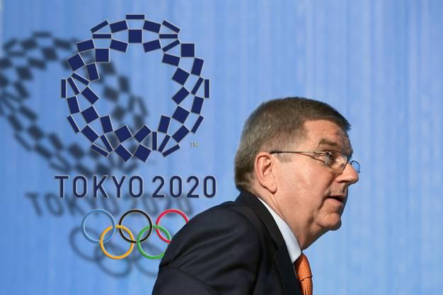 IOC-Präsident Thomas Bach spielte eine unglückliche Rolle im Trauerspiel um die Verschiebung der Olympischen Spiele in Tokio.