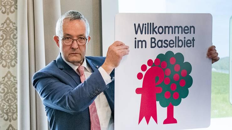 Thomas Weber, SVP Volkswirtschaftsdirektor: «Baselland verfolgt keine medienpolitischen Ziele.» (Archivbild)