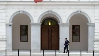 Das Bundesstrafgericht in Bellinzona hat mehrjährige Haftstrafen für 'Ndrangheta-Mitglieder ausgesprochen. (Archiv)