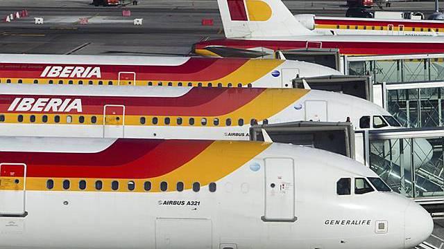 Gutes Jahresergebnis für die spanische Airline Iberia (Archiv)