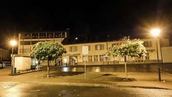Der Postplatz in Flums: Der erste Tatort, an dem ein damals 17-jähriger Lette mehrere Personen mit einer Axt verletzte. (Archivbild)