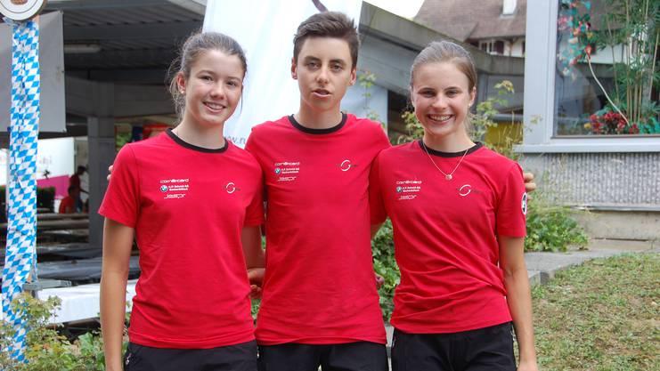 Lea Huber (Sulz), Jan Christen (Gippingen) und Noelle Rüetschi (Gipf-Oberfrick) sind drei von sechs Radsportlerinnen und Radsportler, die nächste Woche an der Europäischen Jugend-Olympiade in Baku in Aserbeidschan teilnehmen.