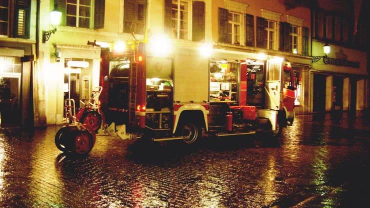 Küchenbrand in der Solothurner Altstadt