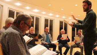Der Männerchor Witterswil trifft sich jede Woche einmal.