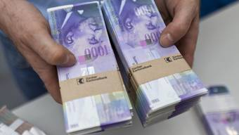 1000-Franken-Noten. (Archiv)