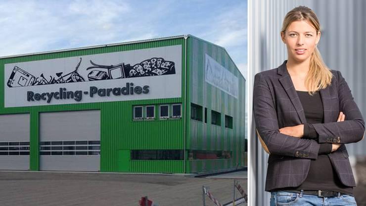 Karin Bertschis Recycling-Paradies-Standort in Hunzenschwil. (Archiv)