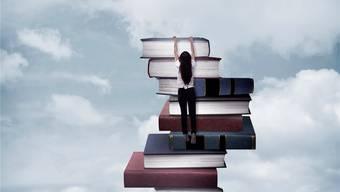 Wo die Luft gut ist und die Aussicht grossartig, finden sich im Buchmarkt noch immer vor allem Männer. iStockphoto