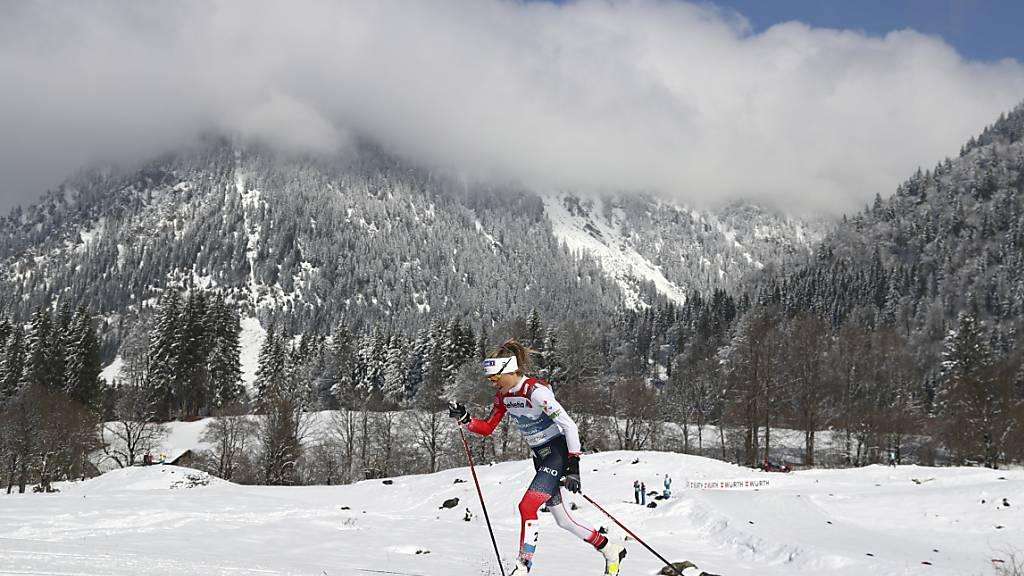 Therese Johaug läuft zum vierten Gold