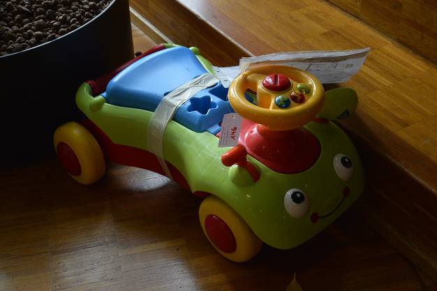 Für die ganz Kleinen ein Buggy.