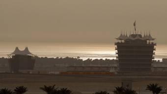 Blick auf die Formel 1-Rennstrecke in Bahrain (Archiv)