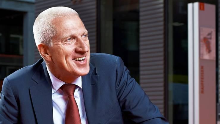 Der abtretende Chef der Raiffeisen-Gruppe Pierin Vincenz. rené ruis/keystone