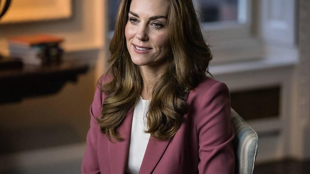 ARCHIV - Herzogin Kate hat ihr Beileid schriftlich bekundet. Foto: -/Kensington Palace/PA Media/dpa - ACHTUNG: Nur zur redaktionellen Verwendung und nur mit vollständiger Nennung des vorstehenden Credits