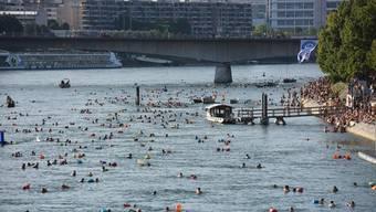 Beim Rheinschwimmen wurden gute Werte gemessen. Dem war diesen Sommer aber nicht immer so.