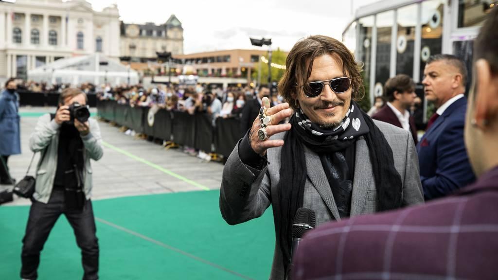 Johnny Depp präsentierte in Zürich seinen neuen Film