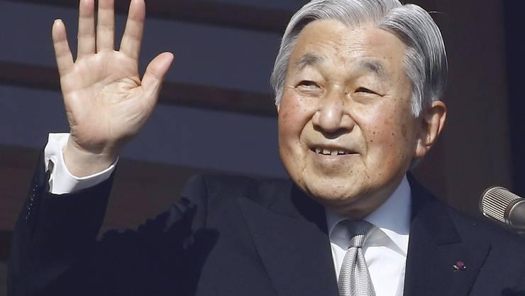 Das japanische Unterhaus hat der Abdankung des japanischen Kaisers zugestimmt. (Archivbild von Akihito)