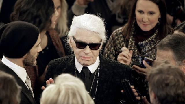 """Wahnsinnig nett"": Modeschöpfer Karl Lagerfeld (Archiv)"