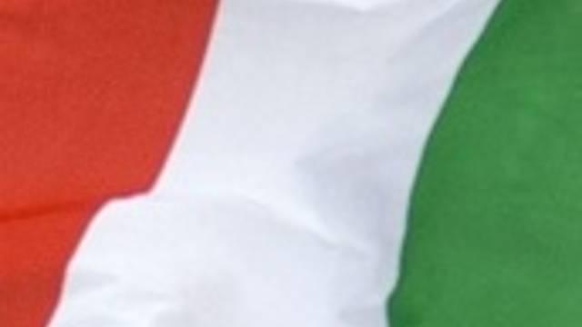 Farben der italienischen Flagge (Symbolbild)