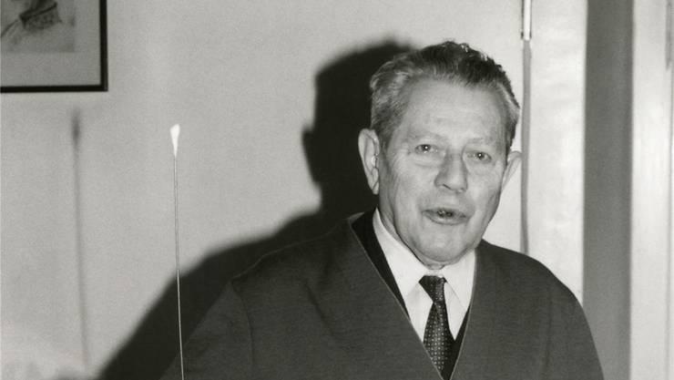 HNO-Arzt Max Tschamper arbeitete fünf Jahrzehnte lang.