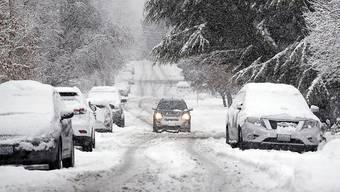 Das kalte Winterwetter in den USA hält die Auto-Kundschaft von Neuwagenkäufen ab. (Symbolbild)