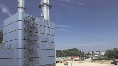 Gaskraftwerk
