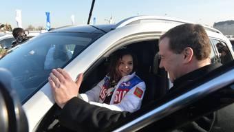 Russland beschenkt seine Olympia-Helden mit Luxusautos