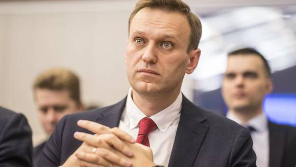 Oppositionspolitiker Alexej Nawalny.