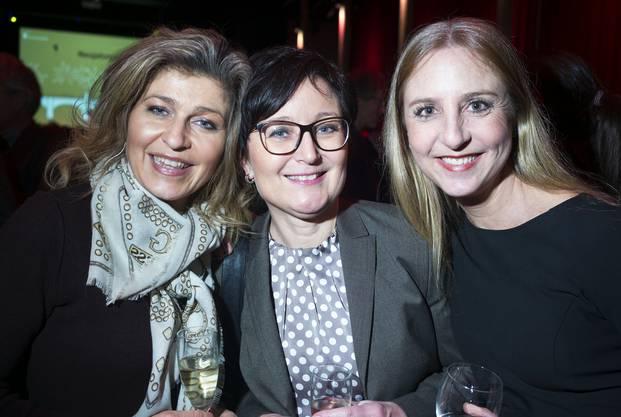 Eva Christ, Präsidentin Appellationsgericht Basel-Stadt, Lydia Isler-Christ, Präsidentin Baselstädtischer Apotheker-Verband, Katja Christ, Grossrätin GLP