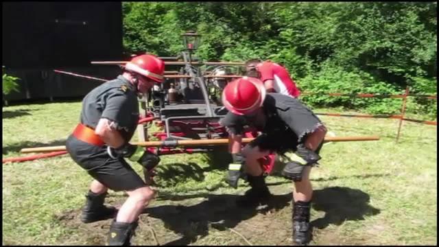 Grosser Einsatz am Sandlochfest in Staad