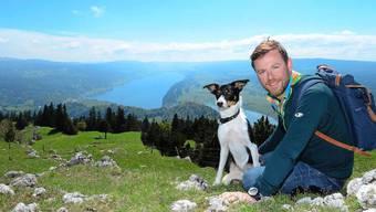 Nik Hartmann wandert mit Hund Oshkosh