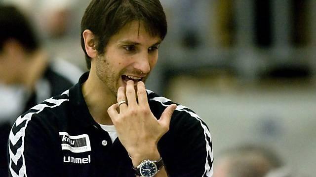 Der Winterthurer Trainer Adrian Brüngger