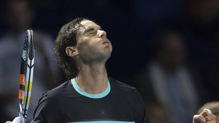 Rafael Nadal kann durchatmen: Dreisatzsieg gegen Grigor Dimitrov