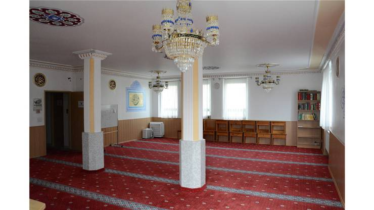 Blick in den Gebetsraum des Wohnheimes