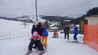 Skilift Gsahl war am Samstag in Betrieb