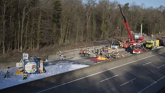 Unfall auf der Autobahn