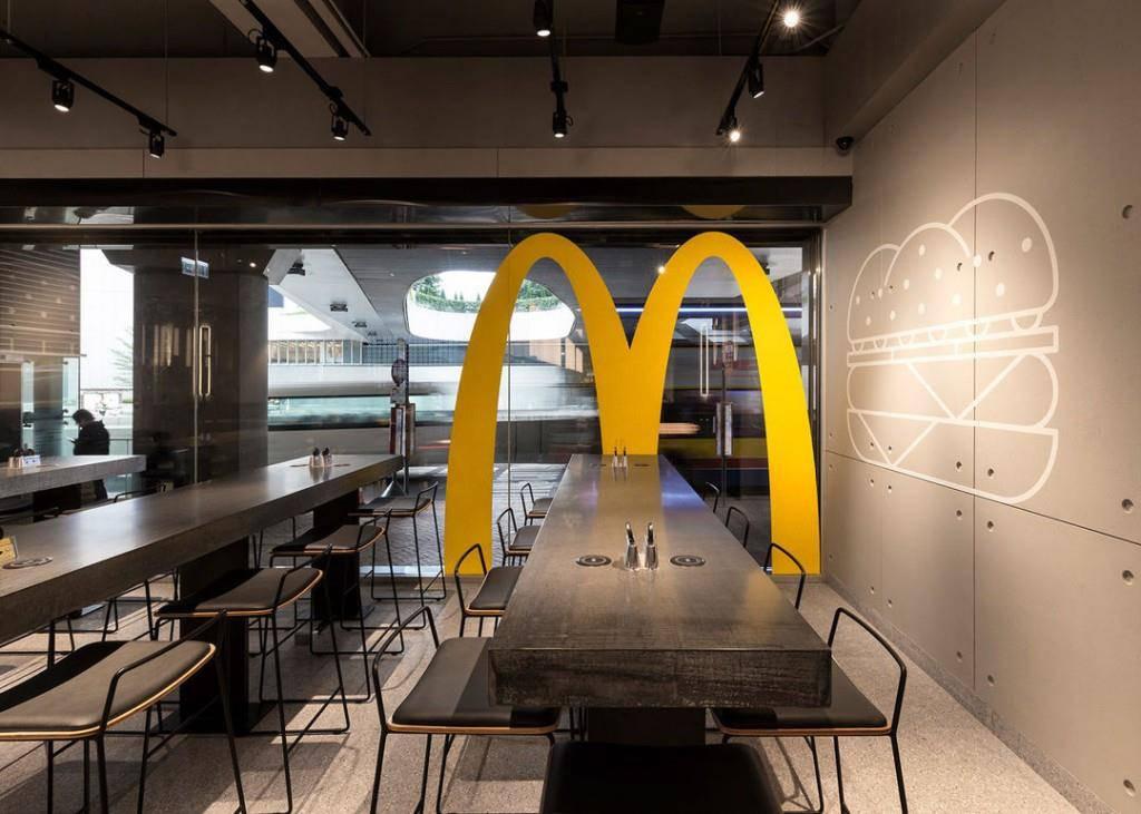 So schön ist der McDonald's Next (© McDonald's)