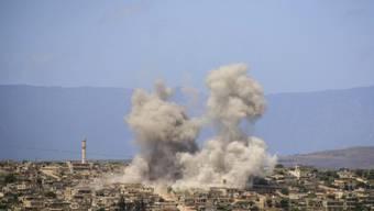 Die syrische Regierung soll bei einem Angriff auf den Nordwesten Syriens laut den USA erneut Chlorgas eingesetzt haben. (Archivbild)