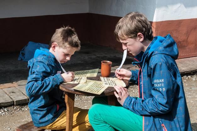 Impressionen vom Event «Römerblut und Klosterkraut»