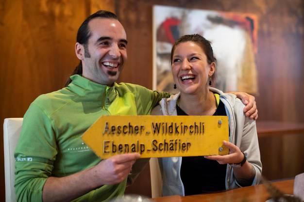 Die Gastronomen Gallus Knechtle (34) und Melanie Gmünder (28) starten mit dem Aescher ein neues Kapitel.