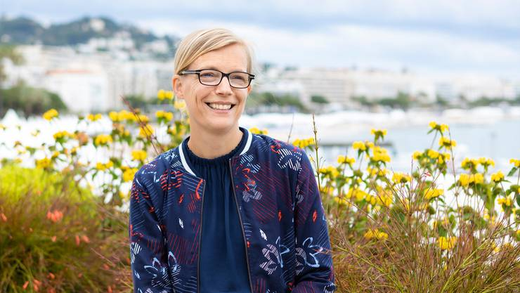Katrin Renz wird in Cannes als eine vielversprechende Filmproduzentin Europas geehrt.