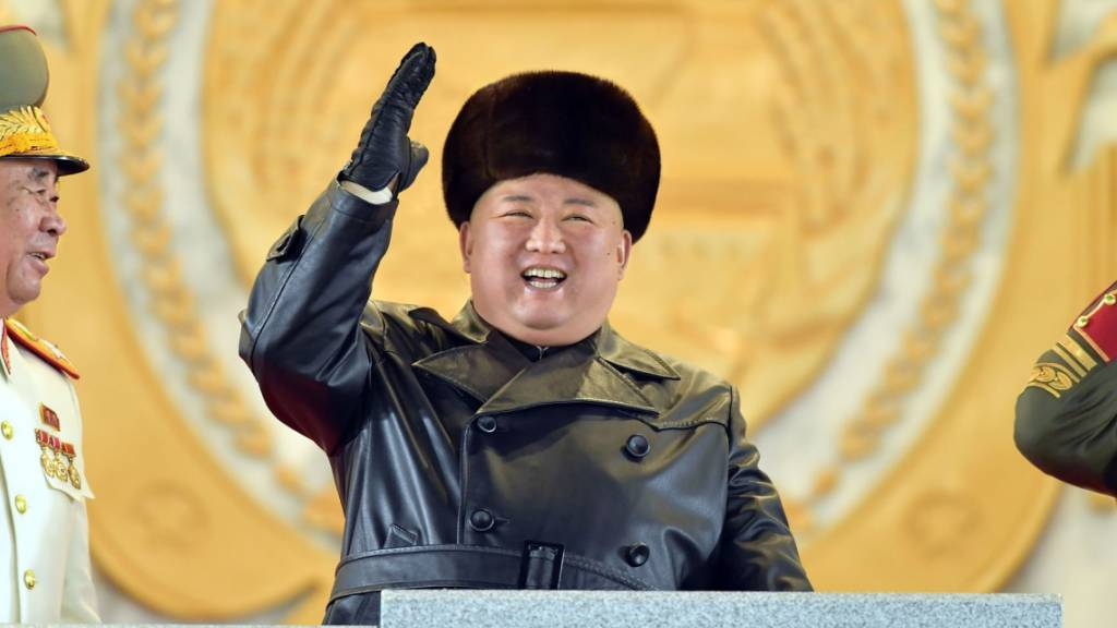 Nordkorea demonstriert bei Militärparade erneut Stärke