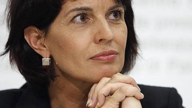 Bundesrätin Doris Leuthard weilt in Rom (Archiv)