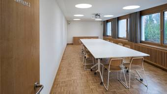 Die Unterrichtszimmer sind jetzt technisch auf dem neusten Stand. zvg/René Rötheli