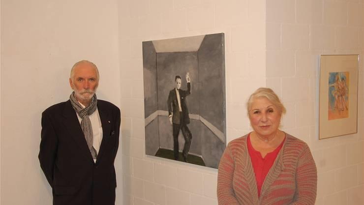 Brian Burke und Pia Tauss stellen ihre neuen Werke in der Galerie Artesol im Vigierhof aus.
