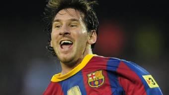 Lionel Messi macht den Unterschied in der Partie gegen Kopenhagen.