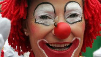 In der Aarauer Altstadt treten auch Clowns auf (Symbolbild)