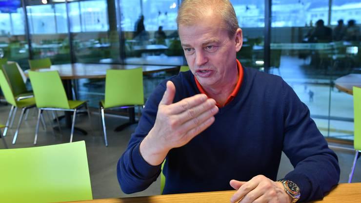 Bengt-Åke Gustafsson, der neue EHCO-Trainer