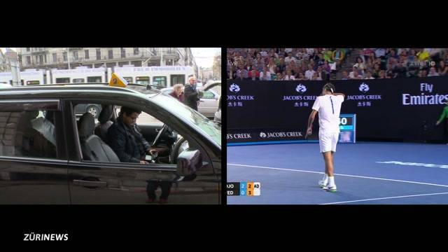 Endstation Tennis-Halbfinale