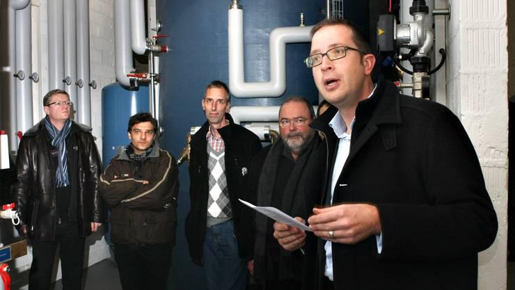 Philipp Grob, Leiter Dienstleistungen bei der Regio Energie Solothurn.