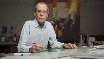"""Dem Illustrator Hannes Binder widmet der Strauhof in Zürich vom 7. Februar bis 17. Mai 2020 die Ausstellung """"Hannes Binder - Die doppelte Lektüre"""". (Archiv)"""
